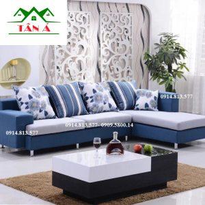 Sofa vải nỉ góc l giá rẻ