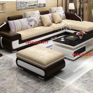 Ghế sofa vải phòng khách chung cư giá rẻ dưới 5 triệu