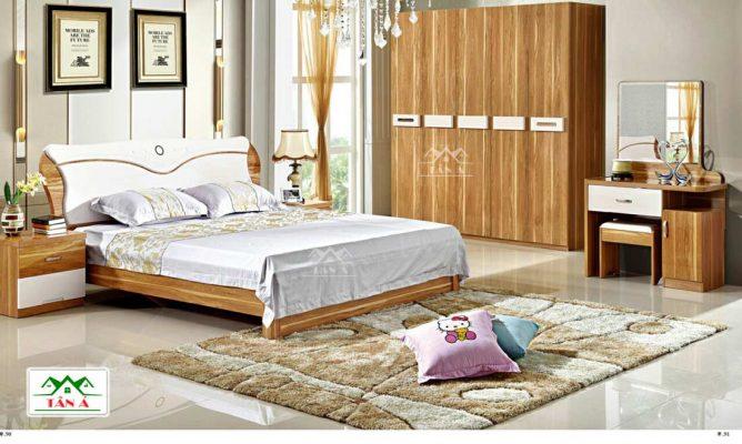 Bộ giường tủ cho phòng ngủ hiện đại giá rẻ tại tphcm