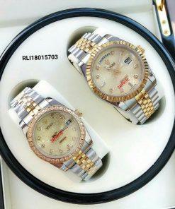 đồng hồ rolex cặp máy cơ giá rẻ