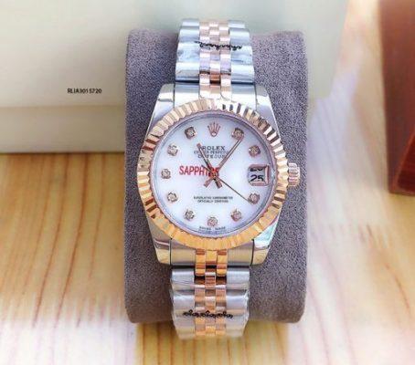 đồng hồ rolex oyster perpetual datejust nữ cơ giá rẻ