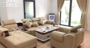ghế sofa phòng khách chung cư giá rẻ, sofa mini