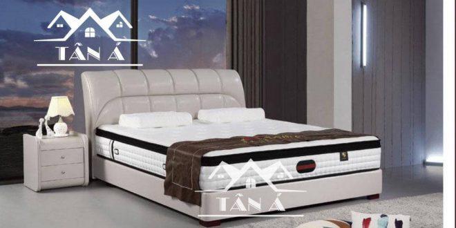 giường ngủ bọc da cao cấp nhập khẩu, giường đẹp giá rẻ